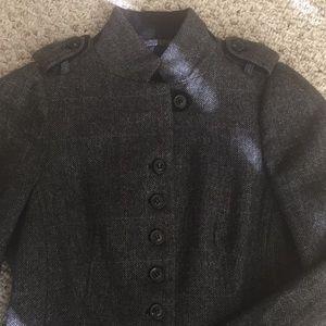 Military wool jacket
